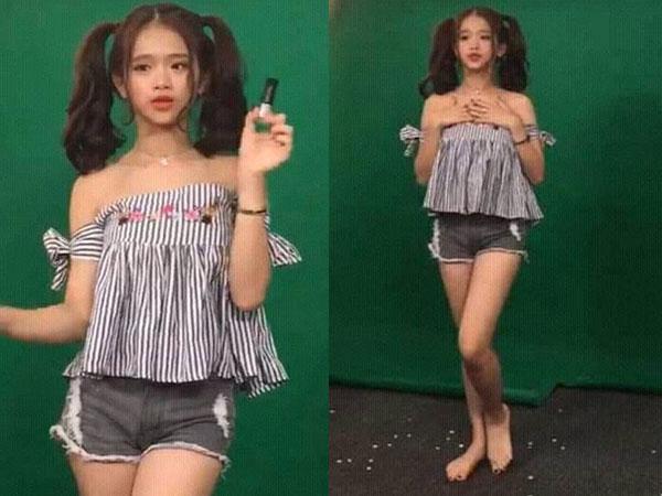 Lộ ảnh hậu trường quảng cáo của Linh Ka, antifan cũng phải câm nín khi nhìn thấy