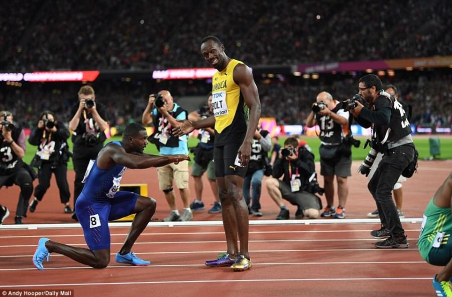 Usain Bolt that bai o chung ket 100 m giai vo dich the gioi hinh anh 4