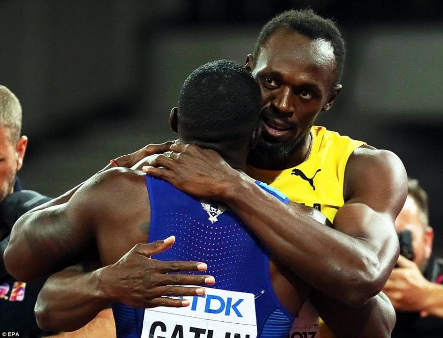 Usain Bolt that bai o chung ket 100 m giai vo dich the gioi hinh anh 5