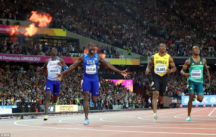Usain Bolt that bai o chung ket 100 m giai vo dich the gioi hinh anh 6