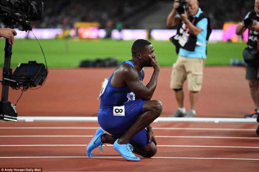 Usain Bolt that bai o chung ket 100 m giai vo dich the gioi hinh anh 7