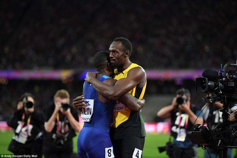 Usain Bolt that bai o chung ket 100 m giai vo dich the gioi hinh anh 8