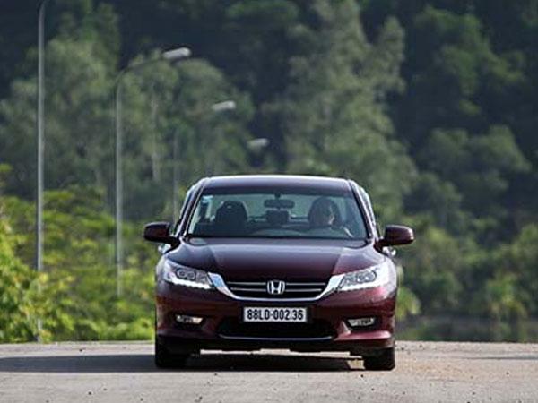 Honda triệu hồi Accord tại Việt Nam