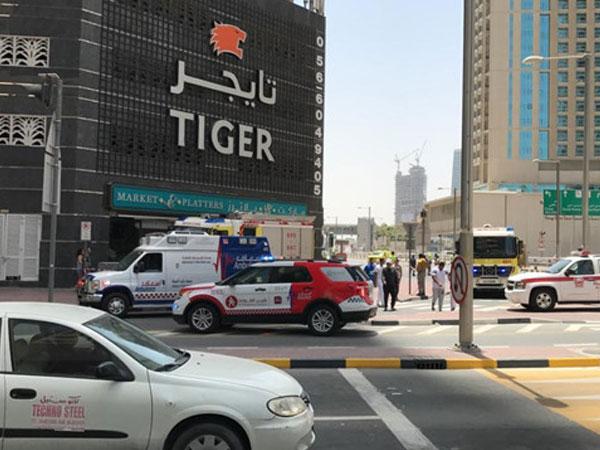Lại cháy cao ốc ở Dubai