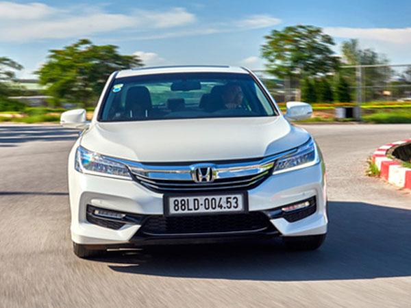 Honda Việt Nam triệu hồi hơn 300 xe Accord vì lỗi ắc-quy