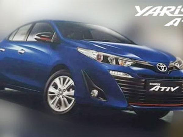 Toyota Yaris sedan mới ra mắt vào tuần sau