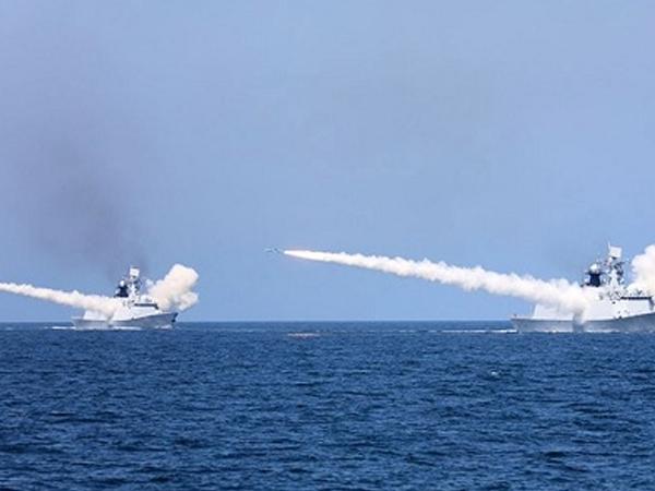 Trung Quốc tập trận quy mô gần bán đảo Triều Tiên