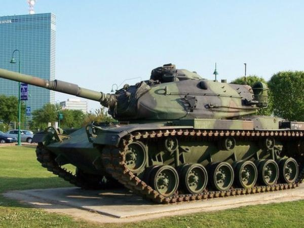 Xe tăng Mỹ M60 khiến Nga