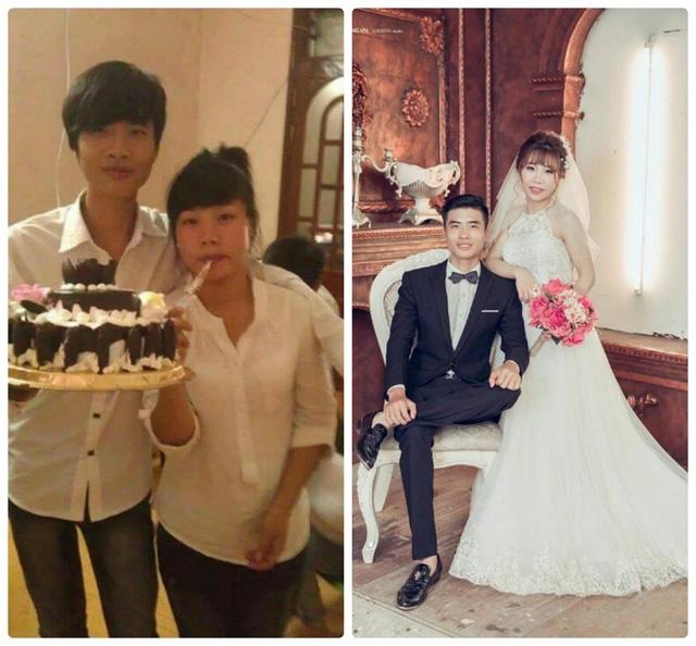 Ngô Văn Cường và Ngô Thị Mai (sinh năm 1995), cặp đôi cùng nhau lớn lên ở mảnh đất Ninh Sơn (Việt Yên, Bắc Giang).