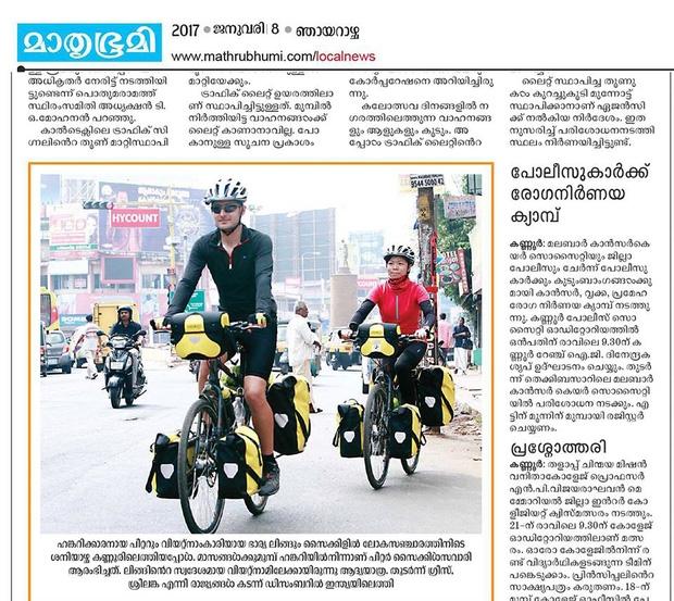 Đôi vợ chồng Việt - Hung đạp xe hơn 11.000km từ Hungary về Việt Nam - Ảnh 3.