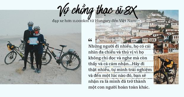 Đôi vợ chồng Việt - Hung đạp xe hơn 11.000km từ Hungary về Việt Nam - Ảnh 11.