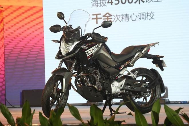 Honda CB190X - moto di phuot ra mat tai Trung Quoc hinh anh 1