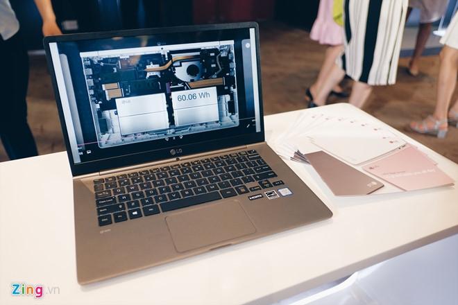 LG ra mat laptop nhe nhat the gioi tai Viet Nam hinh anh 3