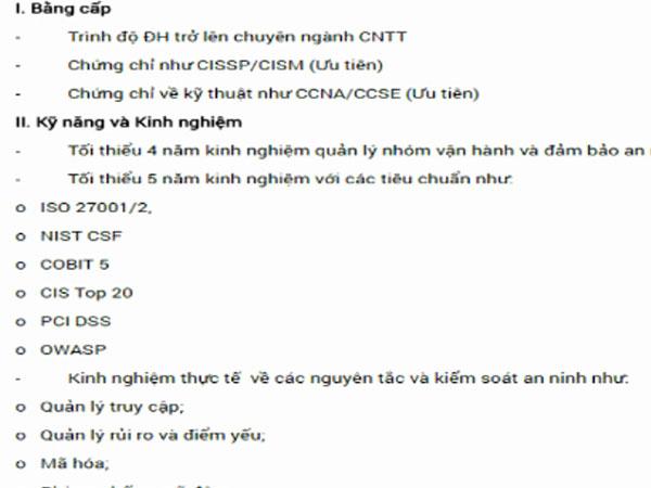 Doanh nghiệp Việt tuyển IT lương 340 triệu mỗi tháng