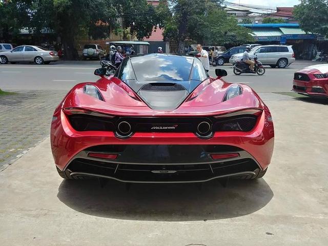 McLaren 720S đầu tiên xuất hiện tại Campuchia, đại gia Việt phát hờn - Ảnh 4.