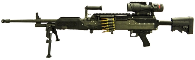 LWMMG - Thế hệ súng máy sử dụng loại đạn mới trên chiến trường hiện đại - Ảnh 1.