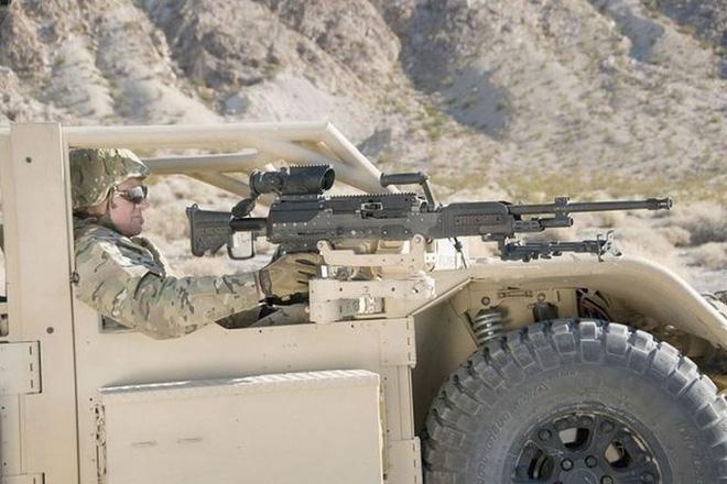 LWMMG - Thế hệ súng máy sử dụng loại đạn mới trên chiến trường hiện đại - Ảnh 3.