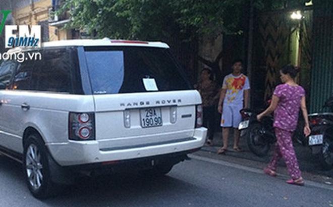 Xe Range Rover đâm chết cháu bé 3 tuổi