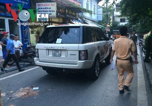 Xe Range Rover đâm chết cháu bé 3 tuổi - Ảnh 1.