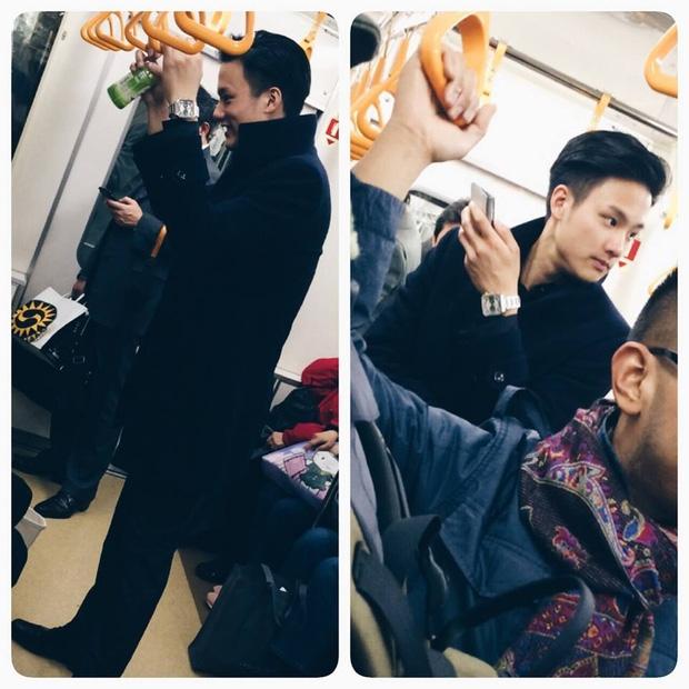 Đã đẹp trai thì ngủ quên trên xe bus như anh chàng này cũng thành cực phẩm! - Ảnh 4.
