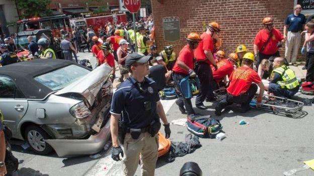 Tổng thống Mỹ Donald Trump đã lên tiếng chỉ trích vụ bạo lực tại thành phố Charlottesville. (Ảnh: Reuters)