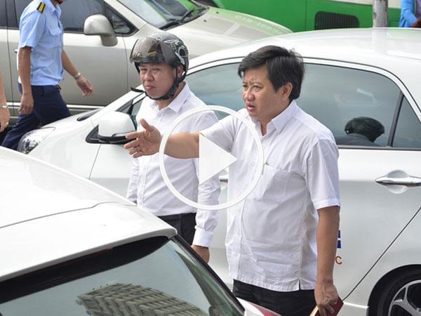 Video: Ông Đoàn Ngọc Hải không cấp phép cho bãi xe cạnh UBND quận 1