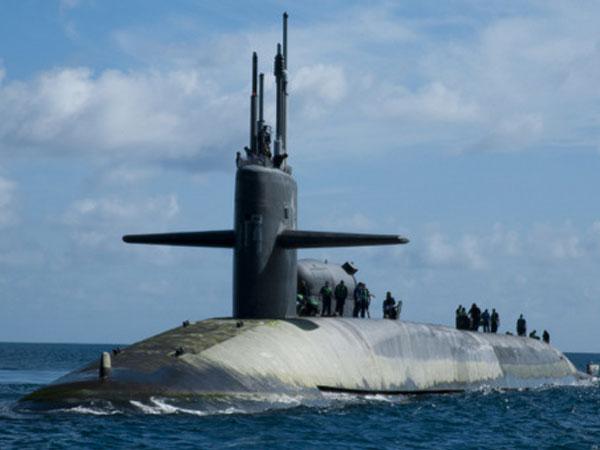 Lần phối hợp răn đe Trung Quốc của ba tàu ngầm hạt nhân Mỹ năm 2010