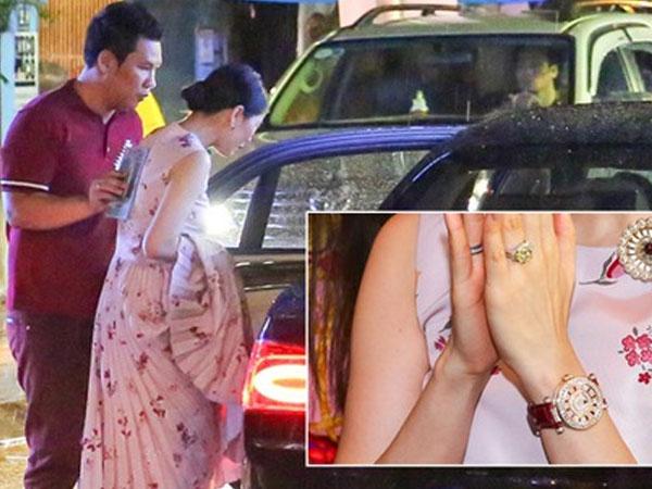 Lệ Quyên xuất hiện cùng xe hơn 20 tỷ vừa tậu, đeo đồng hồ đính kim cương đôi với chồng