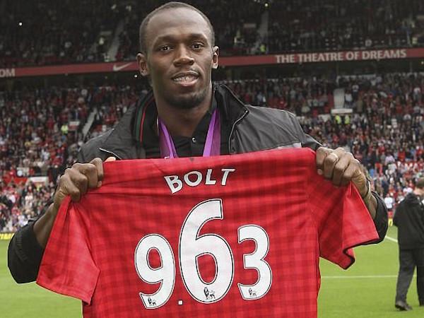 Usain Bolt sẽ được khoác áo M.U nếu bình phục chấn thương