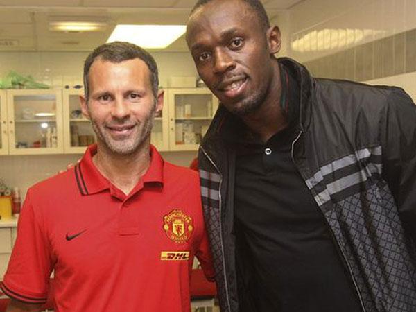Usain Bolt chính thức mất cơ hội khoác áo Man United thi đấu