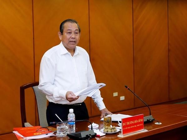 PTT Trương Hòa Bình: Vẫn giám sát chặt chẽ hoạt động của Formosa