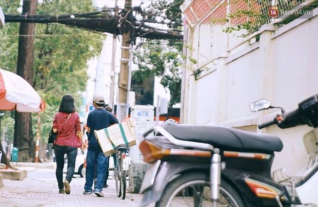 Chuyện cảm động về anh shipper khuyết tật giọng nói, đạp xe hàng chục km mỗi ngày để giao hàng khắp Sài Gòn - Ảnh 13.