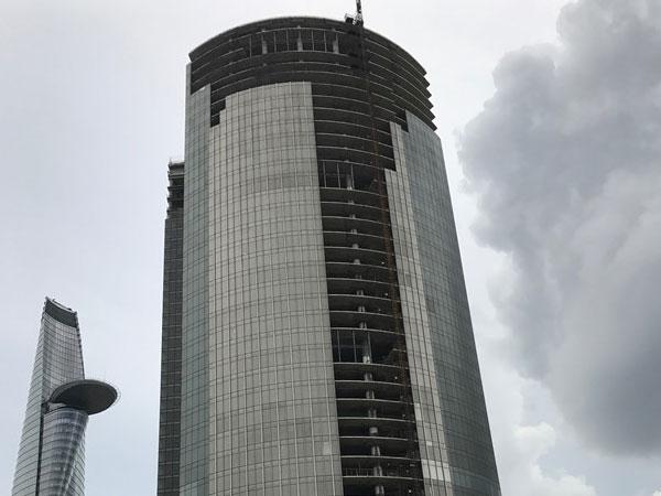 Thu giữ tòa nhà cao thứ 3 Sài Gòn là