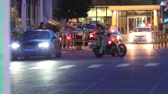 Chuẩn bị thực hiện dẫn đoàn đại biểu APEC từ sân bay Tân Sơn Nhất vào trung tâm thành phố