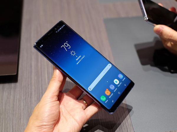 Ảnh thực tế Galaxy Note 8 với camera kép