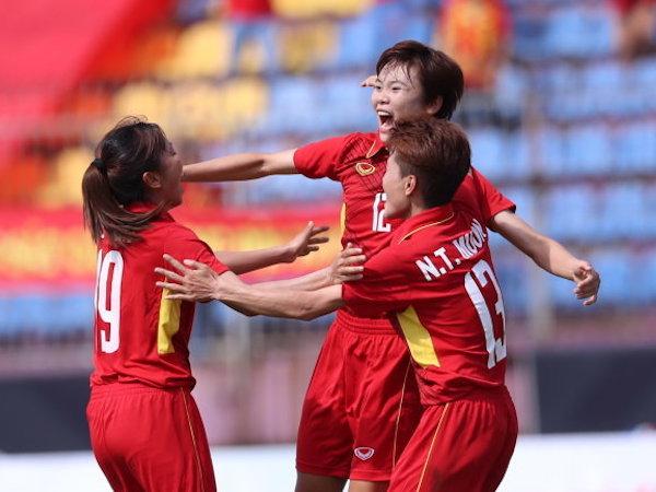 Tuyển nữ VN đua bàn thắng với Thái Lan