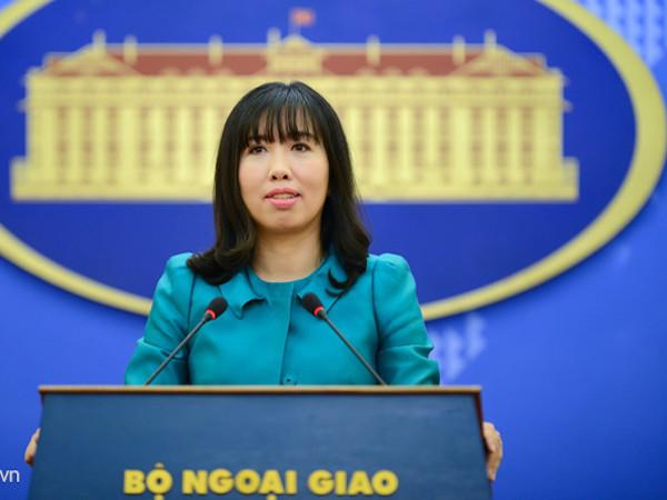 Việt Nam phản đối Đài Loan bắn đạn thật ở đảo Ba Bình