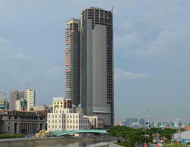 Dự án Saigon One Tower M&C bị thu hồi để xử lý nợ xấu /// Ảnh: Gia Khiêm