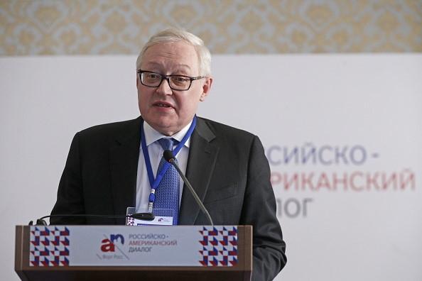 Thứ trưởng Ngoại giao Nga Sergey Ryabkov (Ảnh: Reuters)