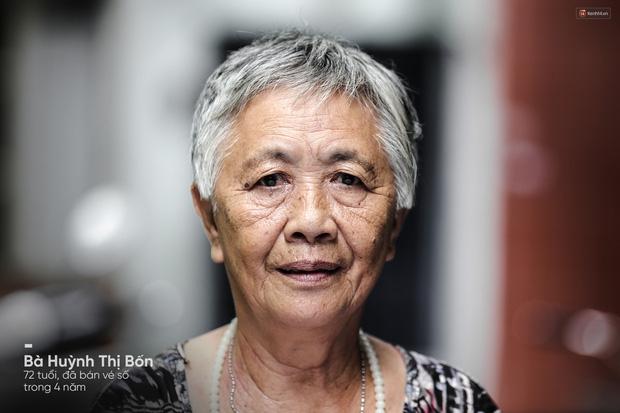 Người già bán vé số tại Sài Gòn: Những phận người bị bỏ quên - Ảnh 7.