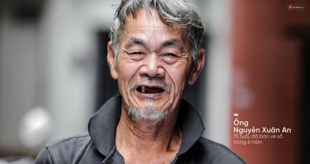 Người già bán vé số tại Sài Gòn: Những phận người bị bỏ quên - Ảnh 9.