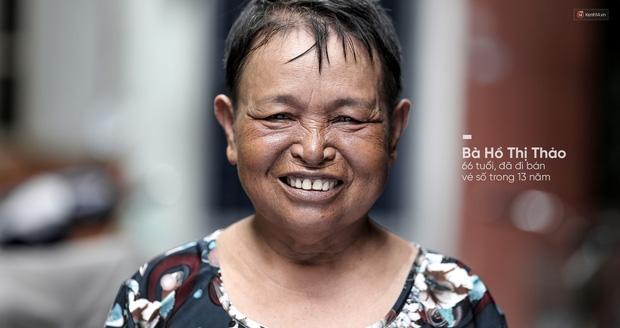 Người già bán vé số tại Sài Gòn: Những phận người bị bỏ quên - Ảnh 11.