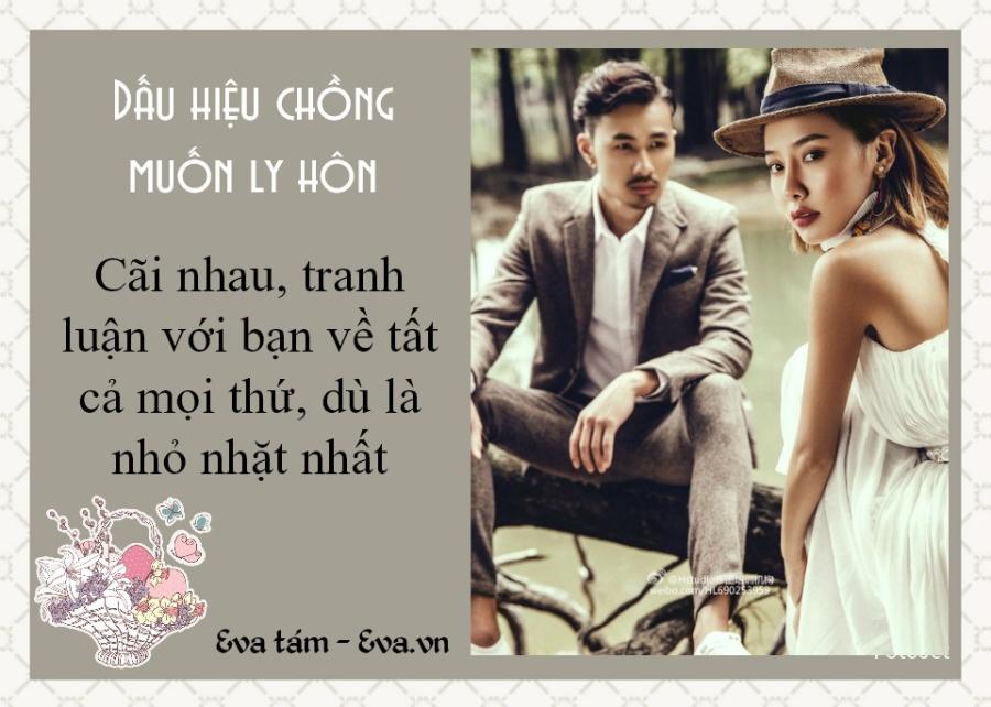 phu nu phai biet: 5 dau hieu canh bao chong ban dang muon ly hon - 1