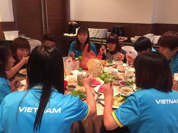 Đội tuyển nữ Việt Nam không bị bạc đãi