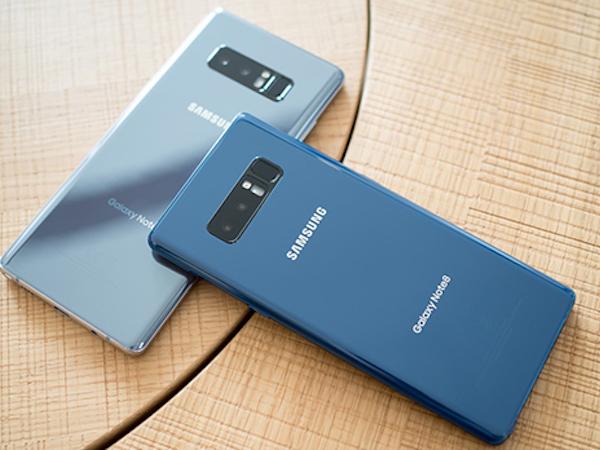 Galaxy Note 8 có pin thua Galaxy S8+