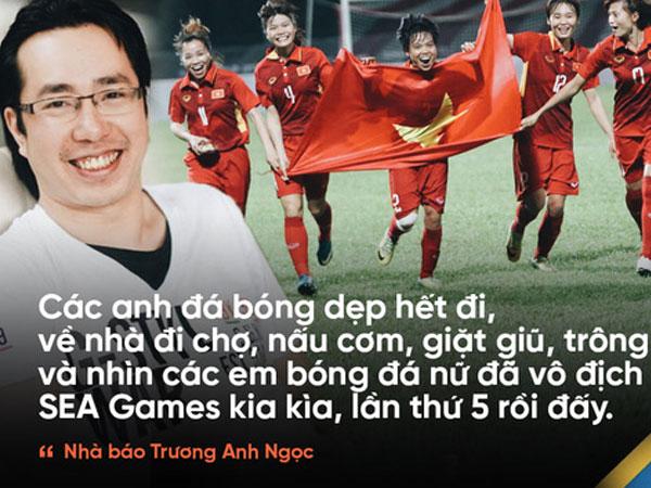 Nhà báo Trương Anh Ngọc: