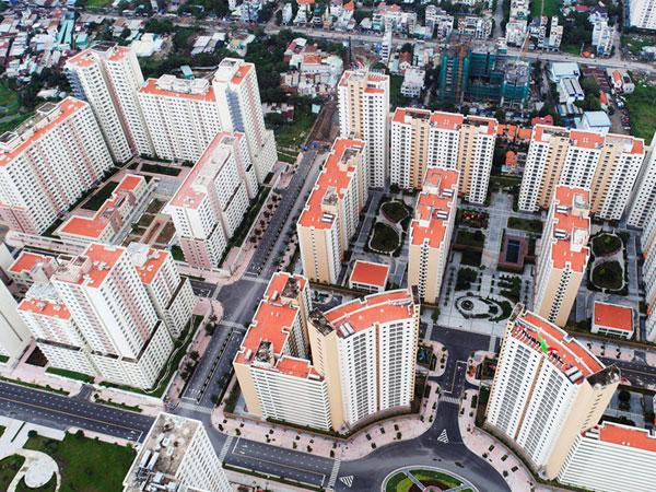 Toàn cảnh khu tái định cư lớn nhất TP.HCM không người ở