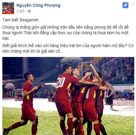 Dan mang 'tan cong' Cong Phuong, Minh Long sau tran thua U22 Thai Lan hinh anh 3