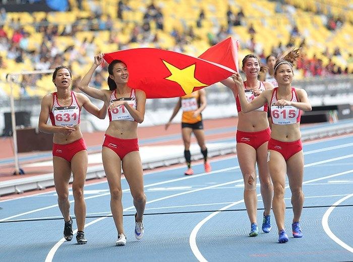 Điền kinh Việt Nam, Lê Tú Chinh, điền kinh SEA Games