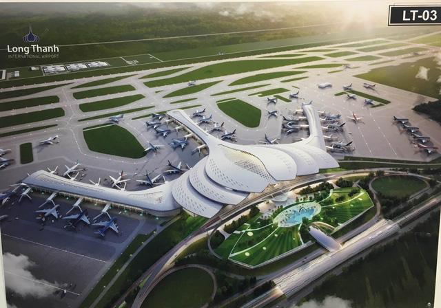 Thiết kế hoa sen được lựa chọn làm kiến trúc sân bay Long Thành.